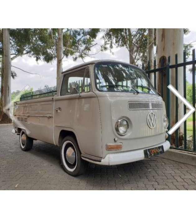 Beautiful 1968 T2 VW Single Cab Flat Bed Comb For Sale