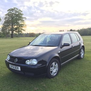 2001 Volkswagen Golf GTi MK VI For Sale by Auction