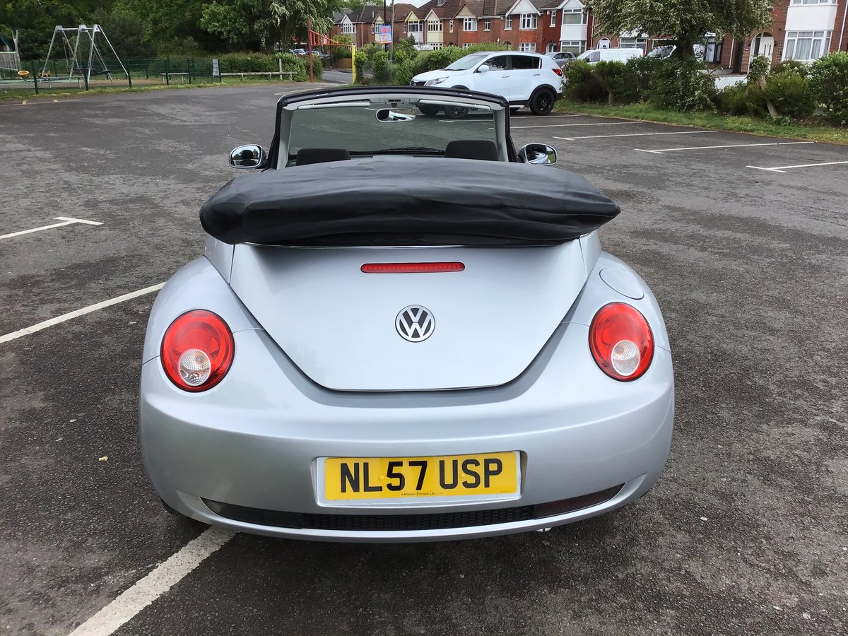 2007 VOLKSWAGEN BEETLE LUNA 1.6 Convertible Low mileage For Sale (picture 3 of 6)