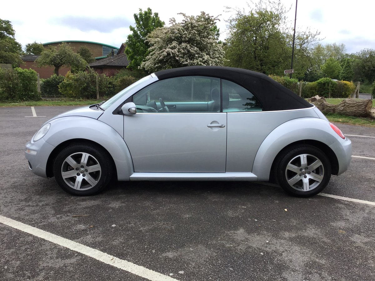 2007 VOLKSWAGEN BEETLE LUNA 1.6 Convertible Low mileage For Sale (picture 6 of 6)