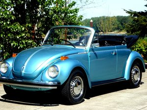 1979 VW Volkswagen Convertible  = FI Blue Manual Blue $12.5k For Sale
