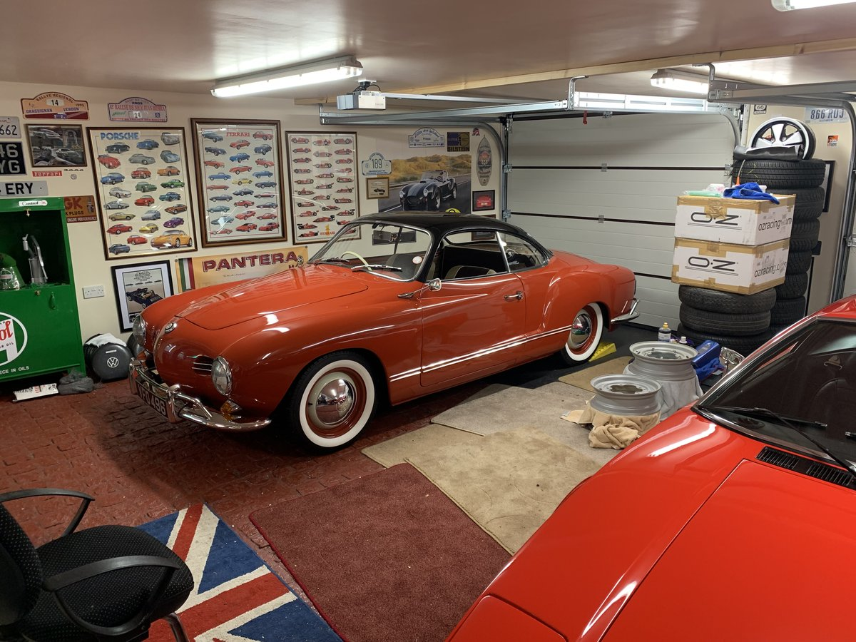 1958 RHD Karmann Ghia LOWLIGHT coupe For Sale (picture 1 of 6)