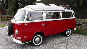 "1972 EARLY BAY ""CROSSOVER"" DORMOBILE CAMPER"