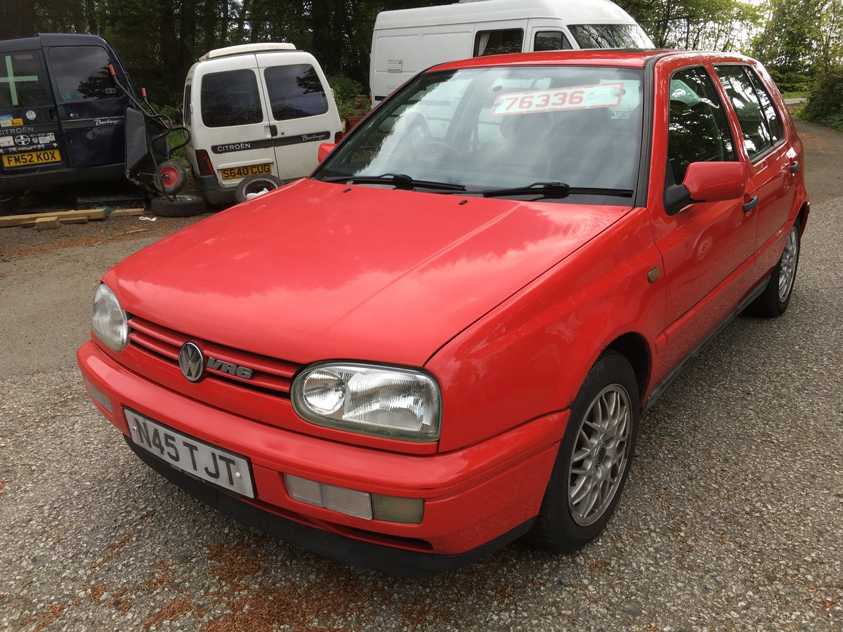 1996 VW golf MK 3 VR6 Manual  6 speed For Sale (picture 1 of 6)