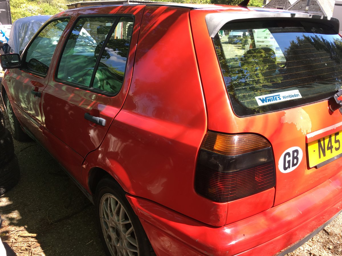 1996 VW golf MK 3 VR6 Manual  6 speed For Sale (picture 2 of 6)