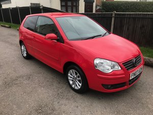 2007 VOLKSWAGEN POLO WITH FULL VAG HISTORY + TWO CAM BELT CHANGES