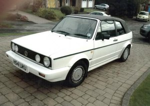 1991 Volkswagen Golf Clipper Convertible For Sale by Auction
