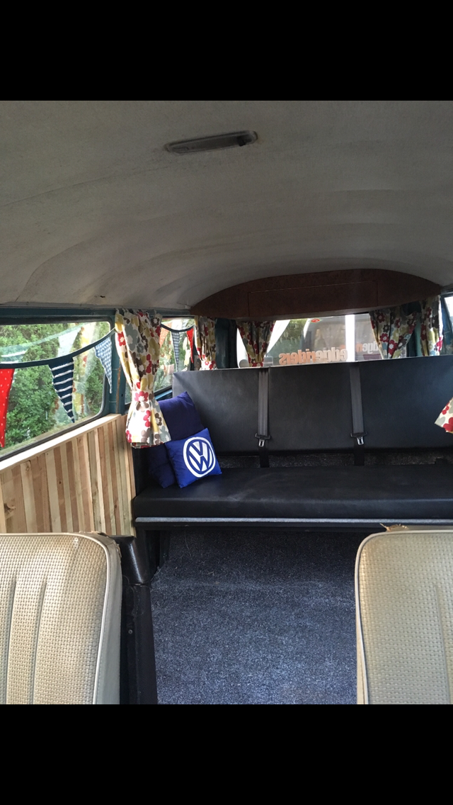 1975 T2 bay window vw camper tintop For Sale (picture 3 of 6)