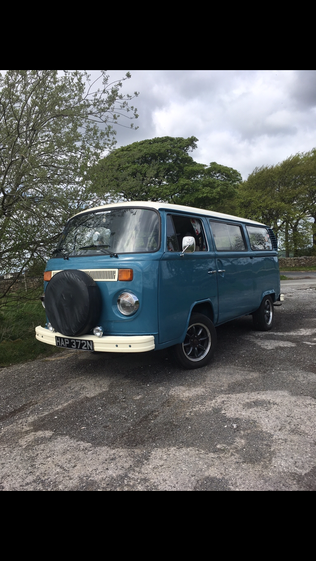 1975 T2 bay window vw camper tintop For Sale (picture 4 of 6)