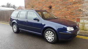 2007 LHD 2002 VW Golf 1.9 TDI S 93,000 miles Estate FSH For Sale