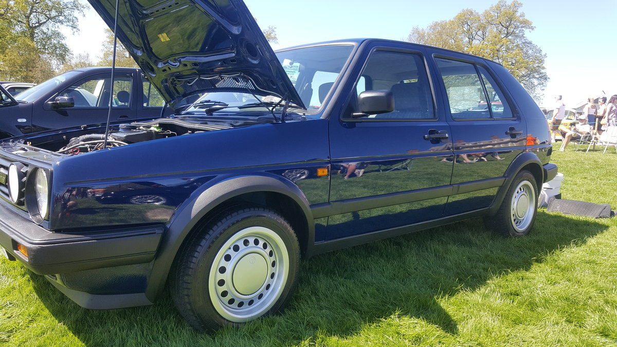 1990 Volkswagen golf driver 33k genuine miles SOLD (picture 2 of 5)