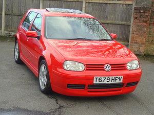 1999 VOLKSWAGEN GOLF 2.3 V5 AUTO 5 DR Est (£)5,000-7,000 For Sale by Auction