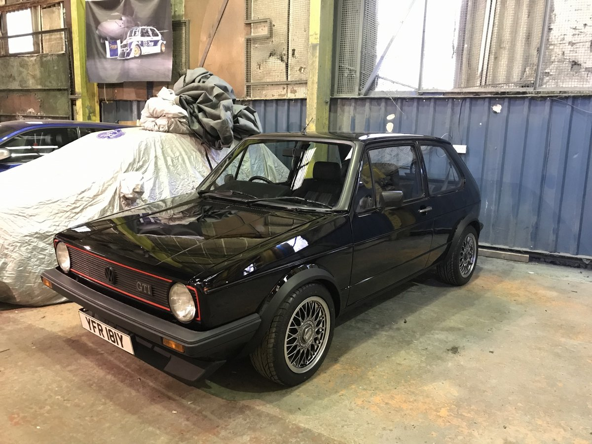 1983 golf mk1 gti ,2 owners,show condition restore For Sale (picture 1 of 4)
