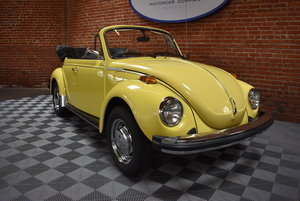 1979 Volkswagen Beetle Cabriolet For Sale