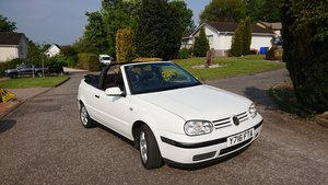 2001 Volkswagen Golf CabrioletSadly time to say goodbye For Sale