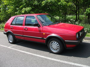 VW Golf Mk2 1.8 Driver Auto 5dr 1991 59,000 Miles For Sale