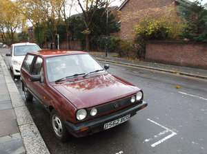 VW Polo  1986 low mileage hatchback with a tow bar For Sale