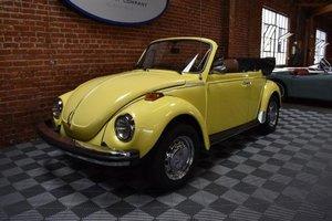 1979 Volkswagen Beetle Cabriolet FI = 24k miles Yellow $18k