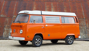 1974 VOLKSWAGEN TYPE 2 WESTFALIA CAMPER WITH PORSCHE ENGINE For Sale