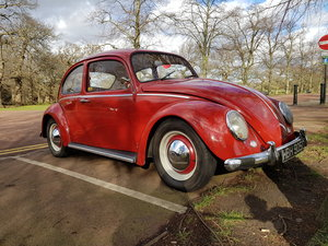 VW Beetle 1600, 1965, Ruby Red, 12 months MOT