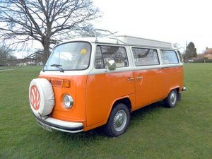 1974 Volkswagen Type 2 Camper Van For Sale by Auction