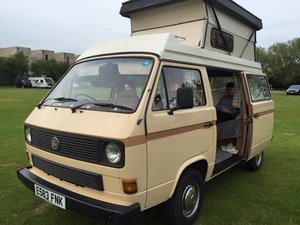 1988 VW T25 Camper 1.9 Petrol Water Cooled 1987 For Sale