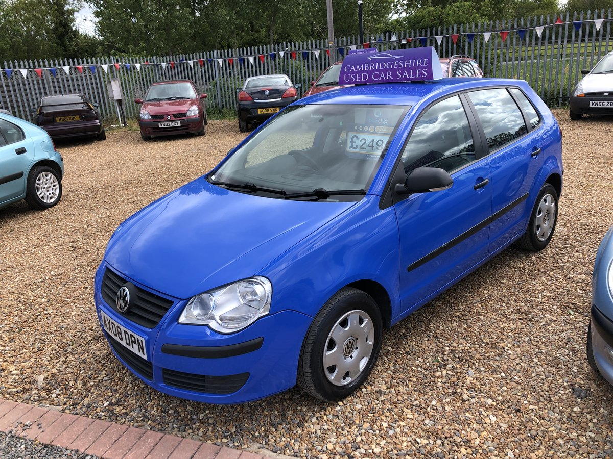 2008 Volkswagen Polo 1.2 E 5dr For Sale (picture 1 of 6)