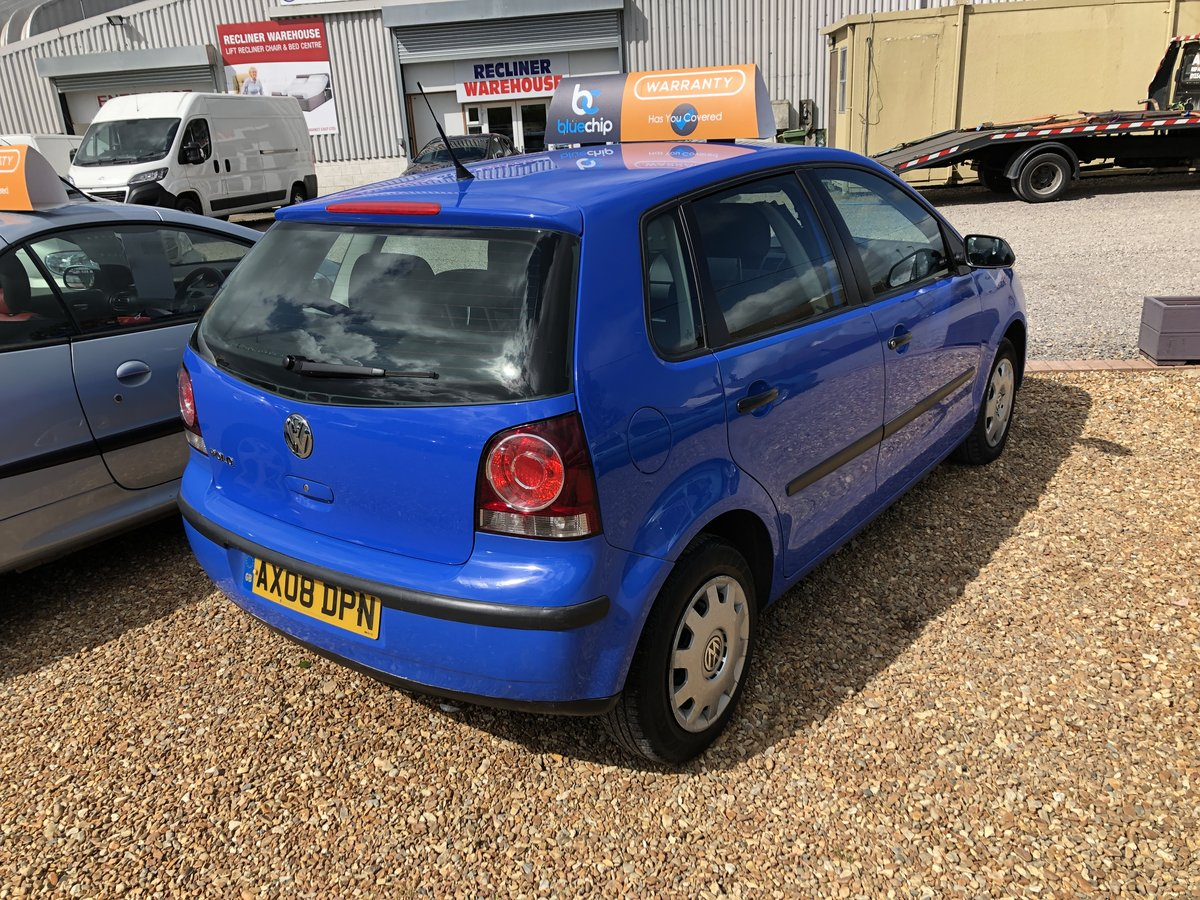 2008 Volkswagen Polo 1.2 E 5dr For Sale (picture 2 of 6)