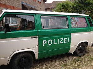 1991 Original Berlin Police Van For Sale