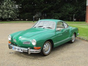 1974 VW Karmann Ghia LHD at ACA 15th June