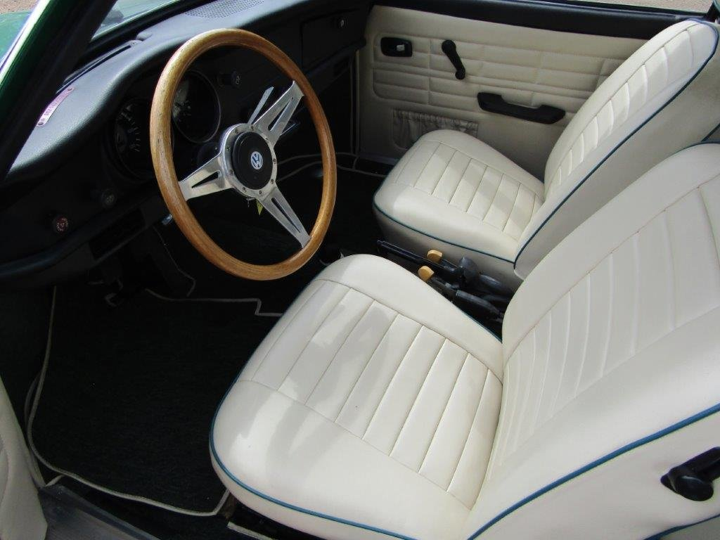 1974 VW Karmann Ghia LHD NO RESERVE at ACA 15th June  For Sale (picture 5 of 6)
