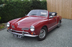 1968 VW Karmann Ghia Convertible