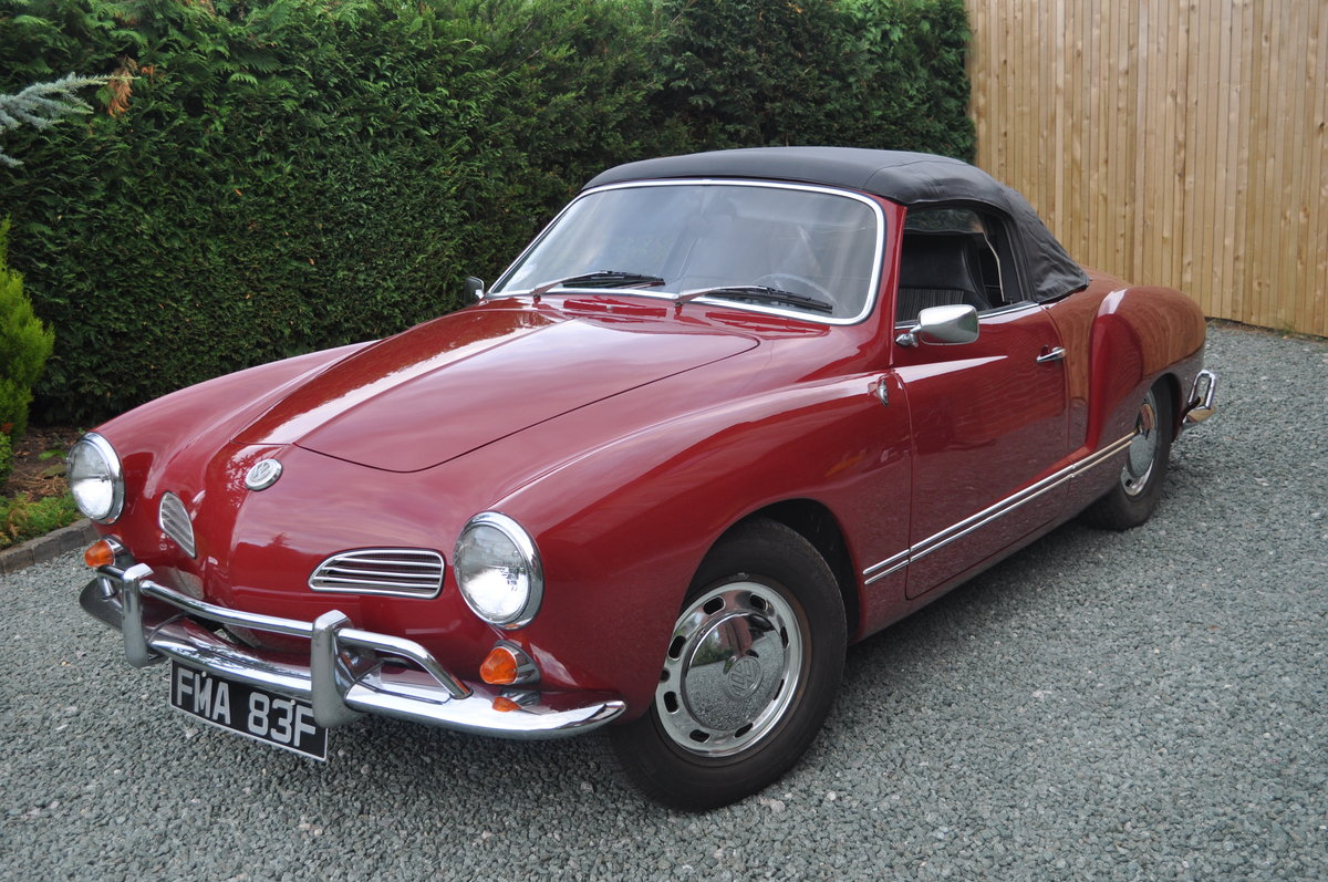 1968 VW Karmann Ghia Convertible For Sale (picture 2 of 4)