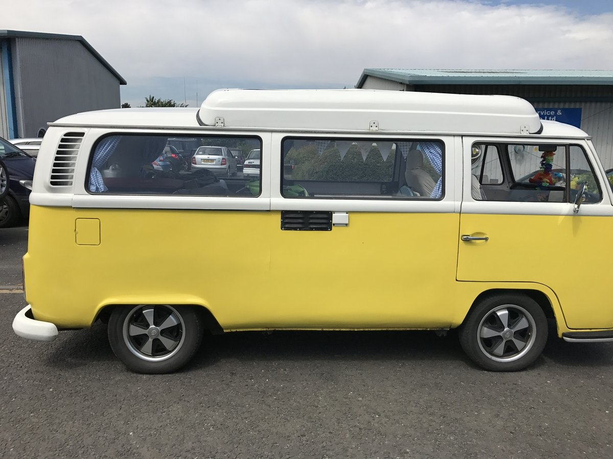 VW T2 Bay camper type 2 1972 (Yellow)  For Sale (picture 1 of 6)