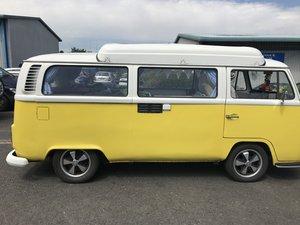 VW T2 Bay camper type 2 1972 (Yellow)