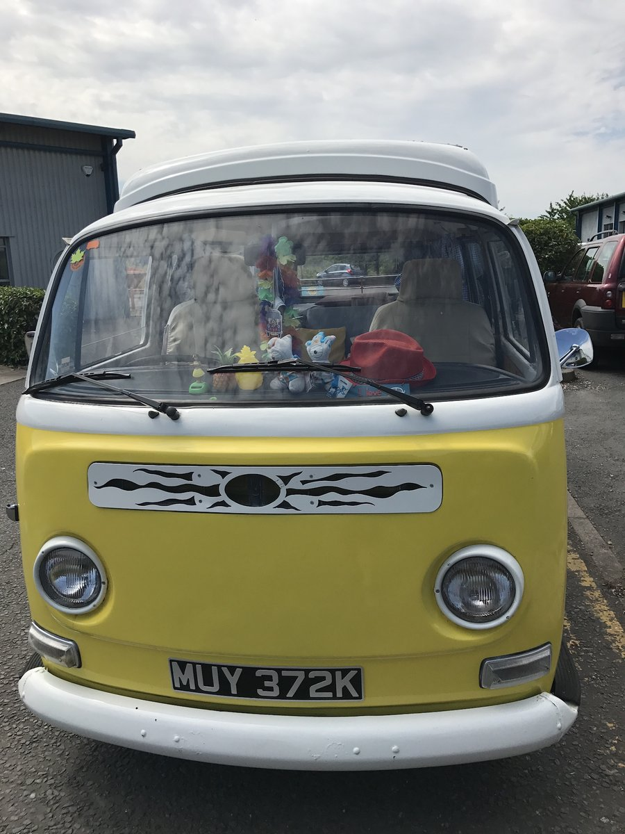 VW T2 Bay camper type 2 1972 (Yellow)  For Sale (picture 5 of 6)