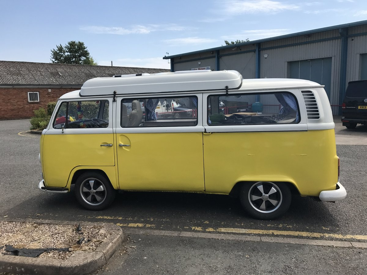 VW T2 Bay camper type 2 1972 (Yellow)  For Sale (picture 6 of 6)