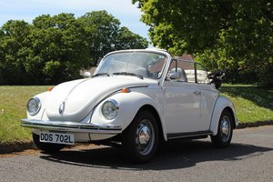 VW Beetle Karmann Convertible 1973- To be auctioned 26-07-19