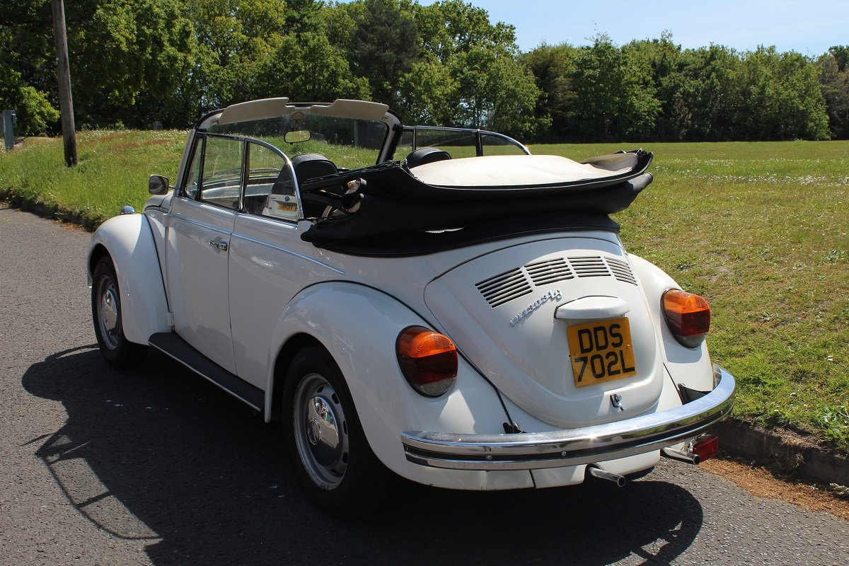 VW Beetle Karmann Convertible 1973- To be auctioned 26-07-19 For Sale by Auction (picture 2 of 6)
