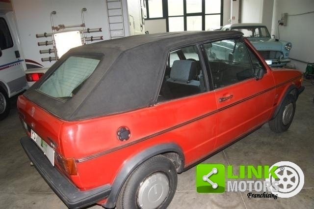 Volkswagen Golf Cabrio KARMANN 1300 GL 1985 ISCRITTA ASI For Sale (picture 3 of 6)