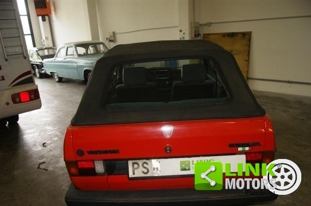 Volkswagen Golf Cabrio KARMANN 1300 GL 1985 ISCRITTA ASI For Sale (picture 4 of 6)
