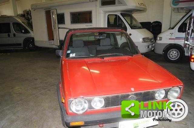 Volkswagen Golf Cabrio KARMANN 1300 GL 1985 ISCRITTA ASI For Sale (picture 6 of 6)