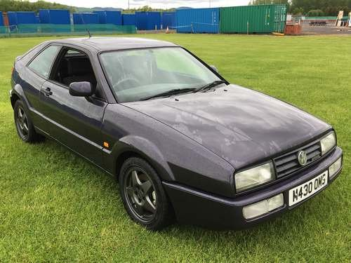 1994 Volkswagen Corrado 2.9 VR6 at Morris Leslie Auction SOLD by Auction (picture 1 of 6)