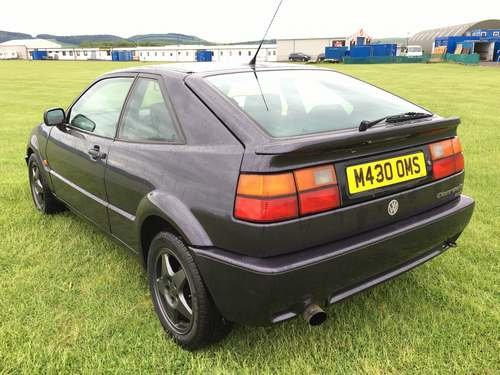1994 Volkswagen Corrado 2.9 VR6 at Morris Leslie Auction SOLD by Auction (picture 2 of 6)