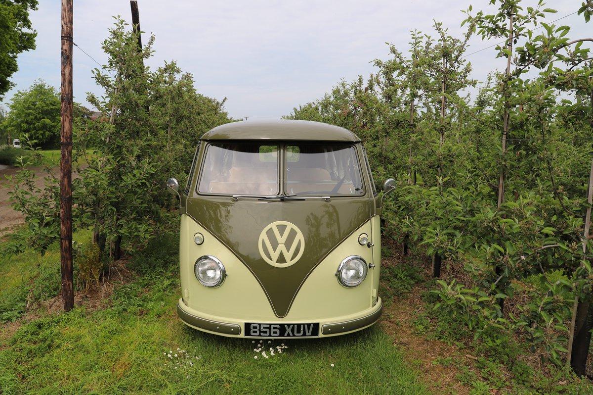 1957 VW Split Screen Camper Van. Beautiful early bus! SOLD (picture 2 of 6)