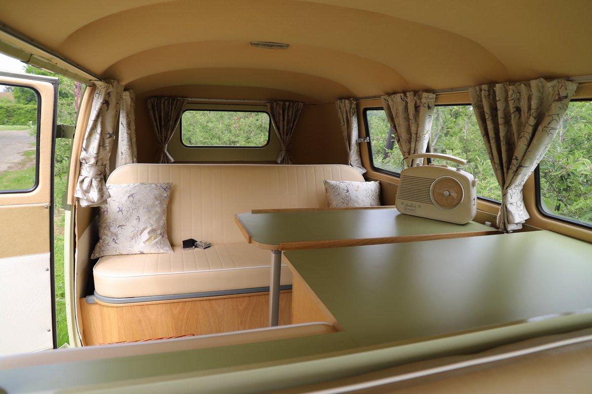 1957 VW Split Screen Camper Van. Beautiful early bus! SOLD (picture 5 of 6)