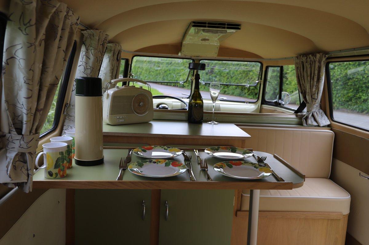 1957 VW Split Screen Camper Van. Beautiful early bus! SOLD (picture 6 of 6)