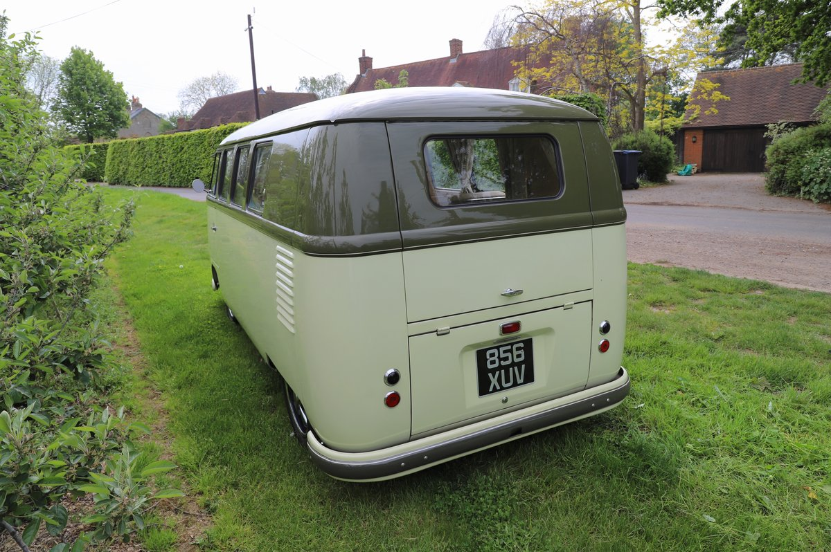 SOLD 1957 VW Split Screen Camper Van. Beautiful early bus! SOLD (picture 2 of 6)