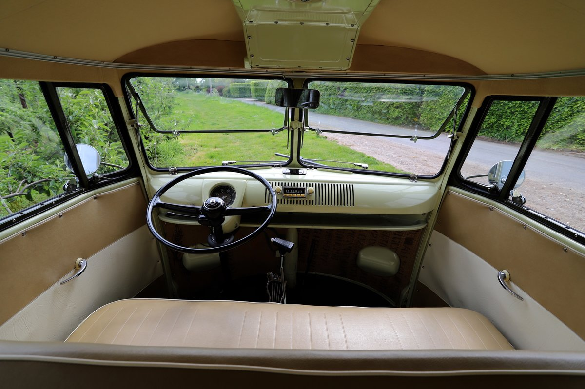 SOLD 1957 VW Split Screen Camper Van. Beautiful early bus! SOLD (picture 4 of 6)