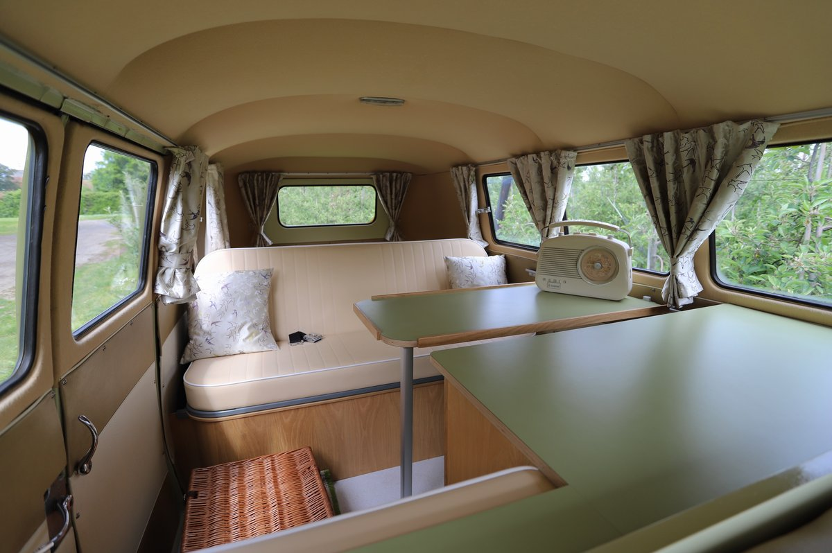 SOLD 1957 VW Split Screen Camper Van. Beautiful early bus! SOLD (picture 5 of 6)